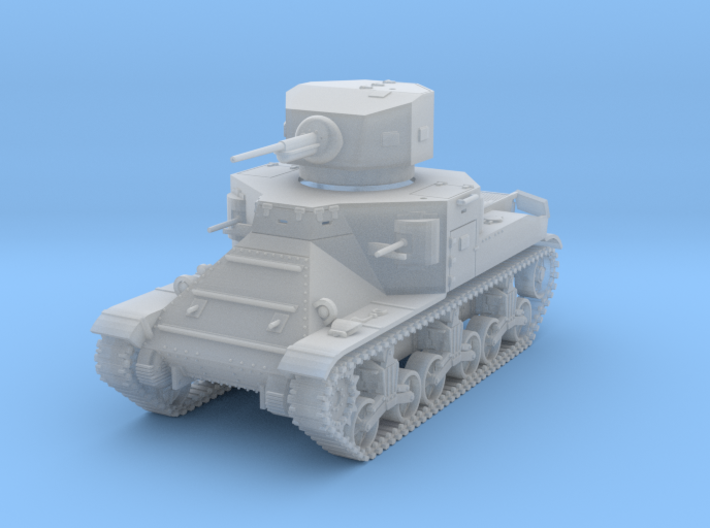 PV37B M2A1 Medium Tank (1/100) 3d printed