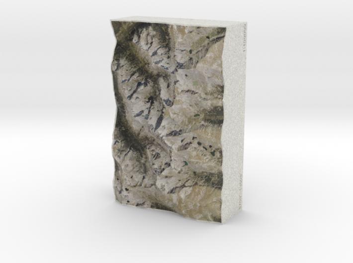 Colorado Front Range, USA, 1:100000 Explorer 3d printed