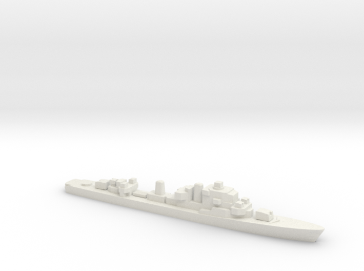 Ostergotland-class Destroyer, 1/1800 3d printed