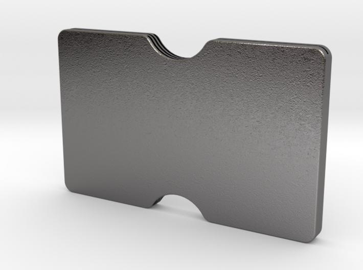 Slimline 3 card wallet 3d printed