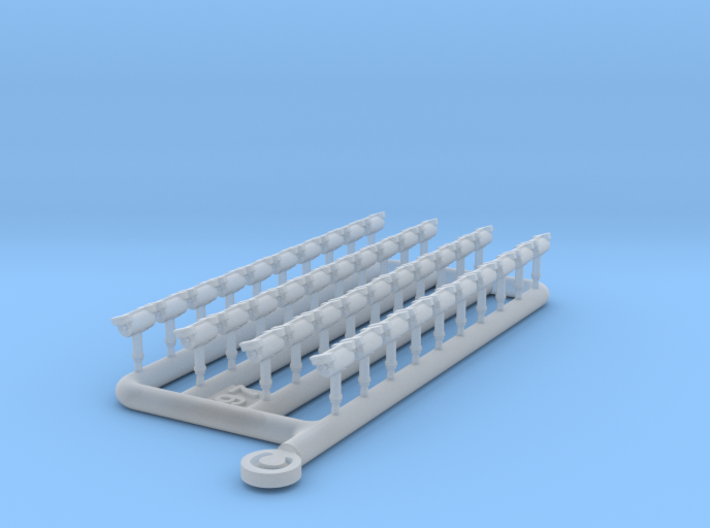 Agassiz - PE0001G - Upgrade for paper model 3d printed