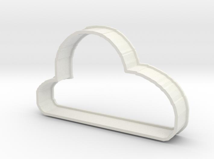 Cloud Cookie 3d printed