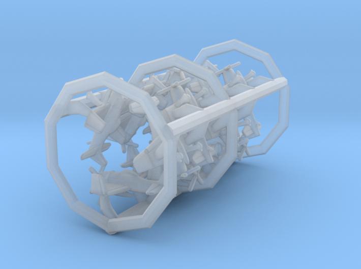 1/700 F8F-1 with Gear x12 (FUD) 3d printed