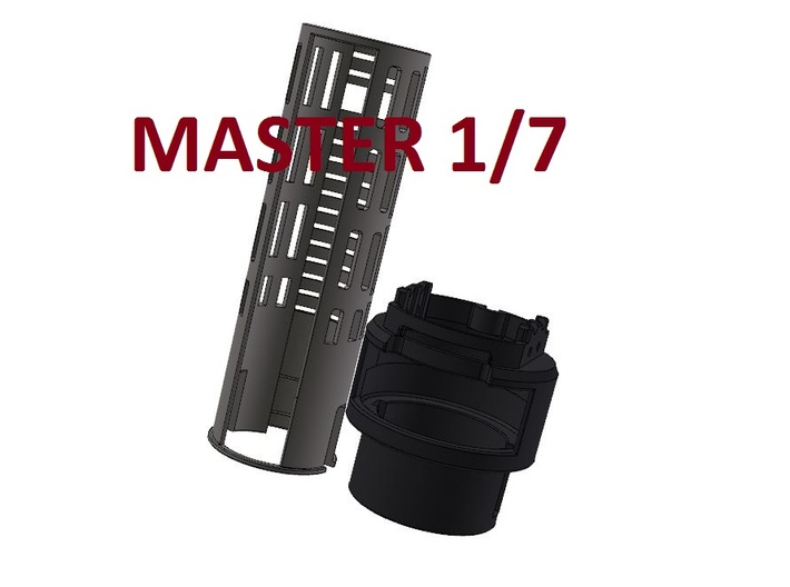 Graflex2.0 - Master Chassis - 1/7 Battery 3d printed