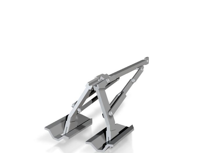 PP10003 Twin Pall RW120 (non-folding) 3d printed
