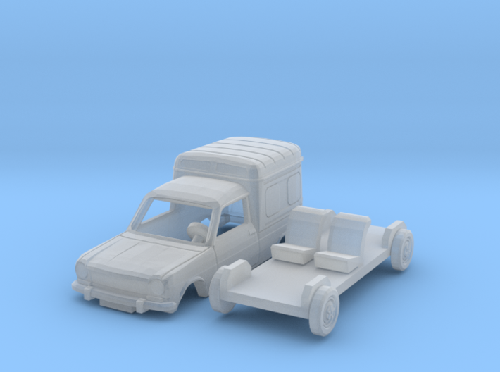 Simca 1100 VF2 (N 1:160) 3d printed