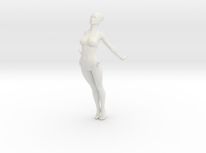 1:24 1:10 Bikini Girl 006 3d printed
