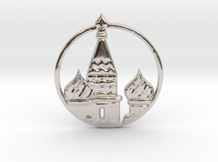 Kremlin Russia 3d printed Kremlin Pendant is spectacular.
