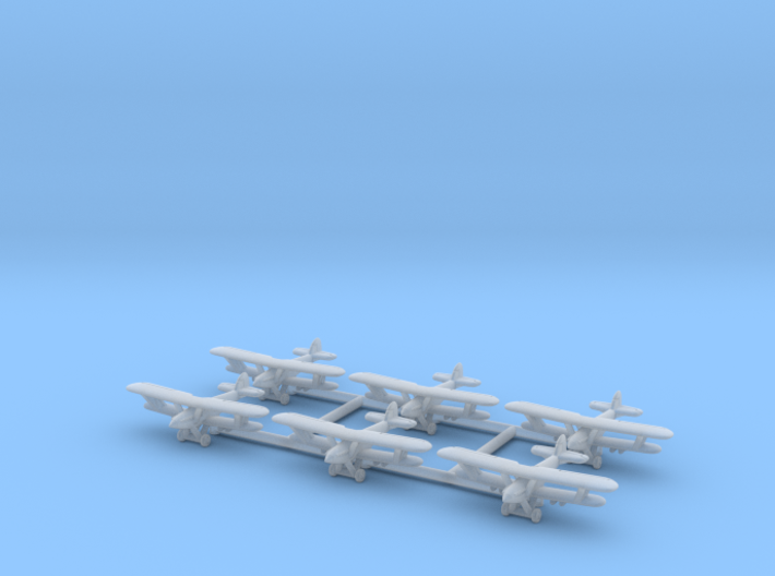 Hawker Hart 1/600 (6 airplanes) 3d printed