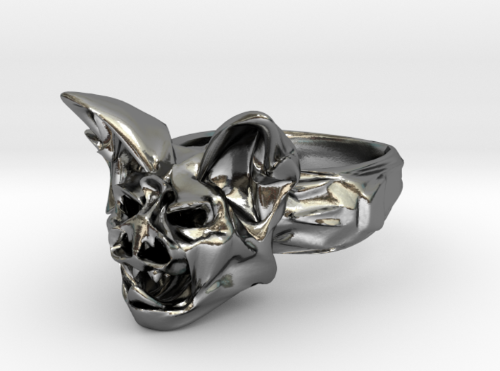 Bat Ring Size 10 3d printed