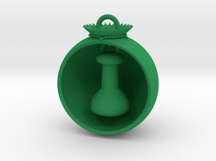 Christmas Ball Volumetric Flask 3d printed
