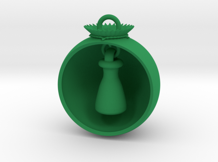 Christmas Ball Erlenmeyer 3d printed