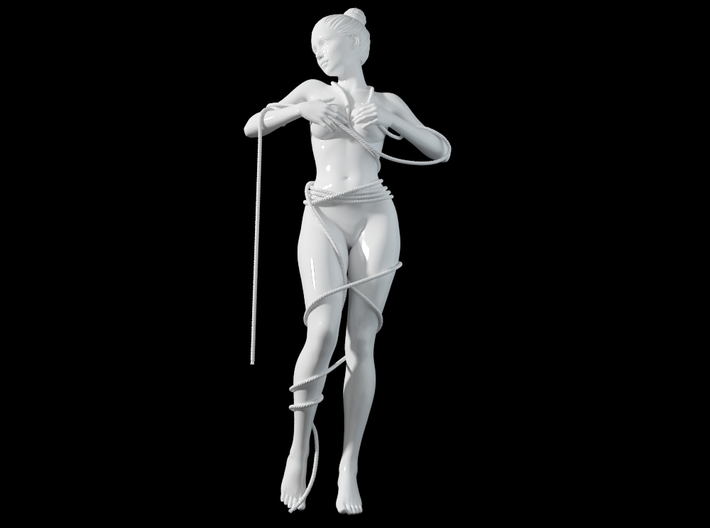 1:20 1:24 Rope with Girl 004 3d printed