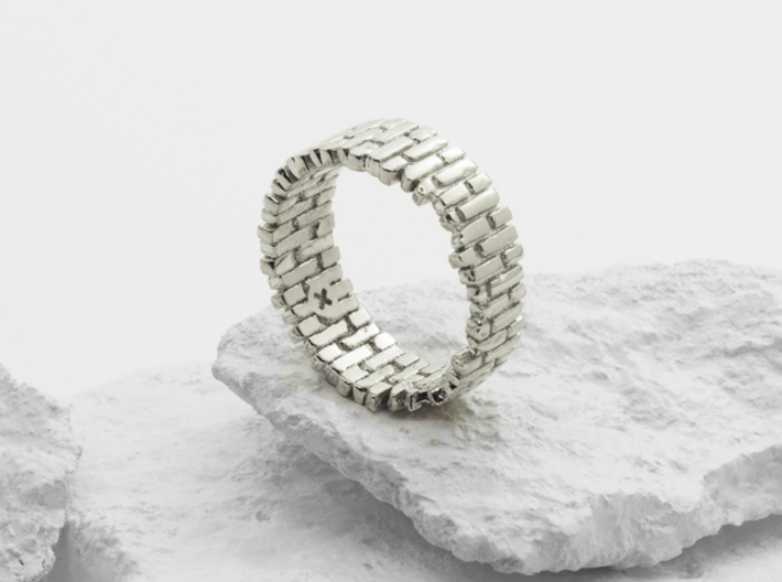 Brick Arch Ring 3d printed