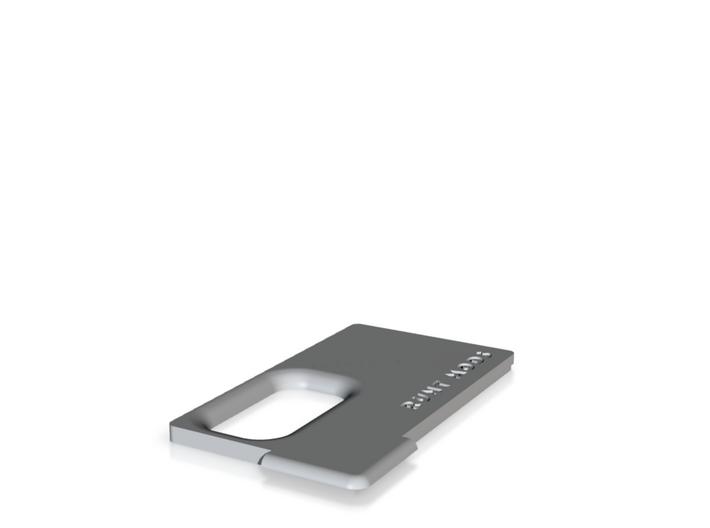 Mini Squonker Door (Polished Grey Metallic) 3d printed
