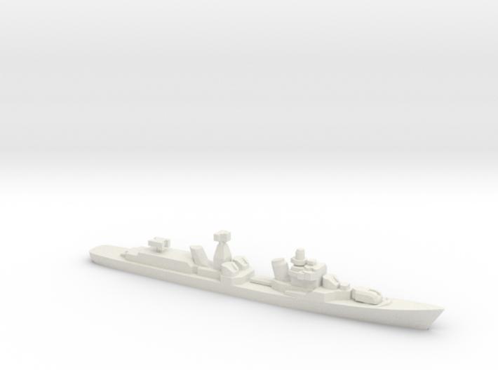 Destroyer Bravyy, 1/2400 3d printed