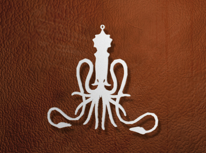 Greyjoy Ornament / Pendant 3d printed Rendered image