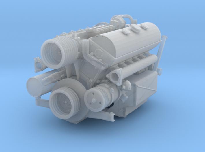 1/16 Maybach HL 120 TRM Engine Cap- Breaker Arms B 3d printed