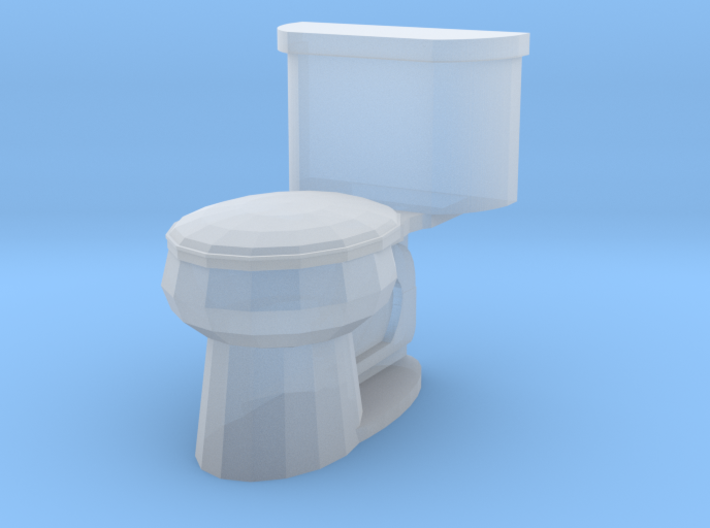 Toilet Closed 3d printed