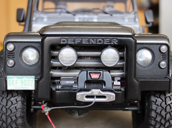 Defender Spectre Winch Bumper Rc4wd Ngdtlxy8c By Cbp27