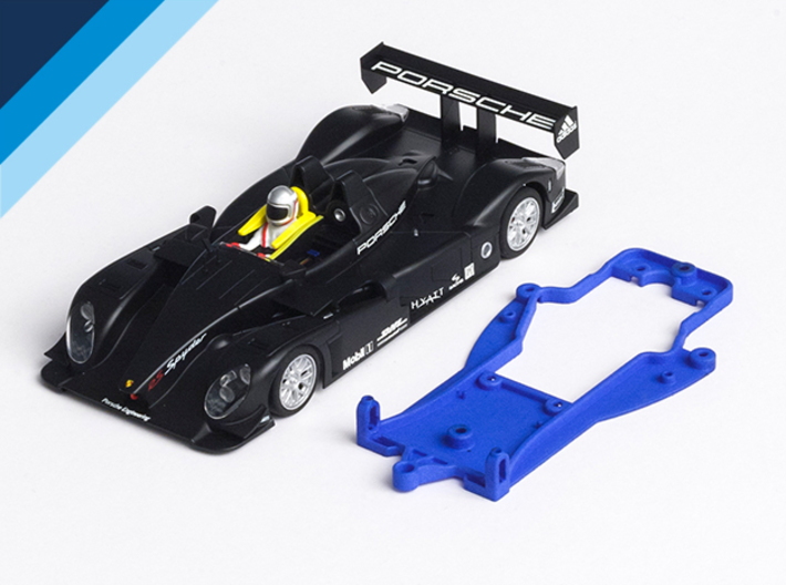 1/32 Avant Slot LMP Chassis for Slot.it pod 3d printed Chassis compatible with Avant Slot Porsche RS Spyder body (not included)