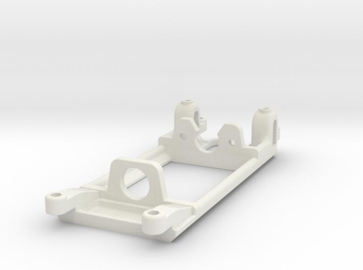 Flat-6 motor mount - Slot.it compatible 3d printed For Flat-6 motor, Slot.it compatible
