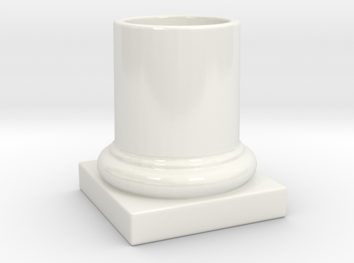 COLUMN PENCIL HOLDER 3d printed