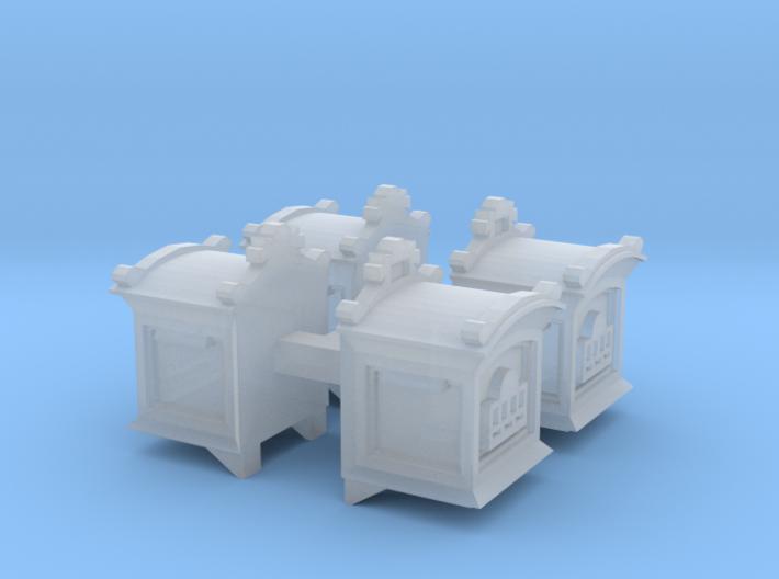 4 Postbriefkasten (N 1:160) 3d printed