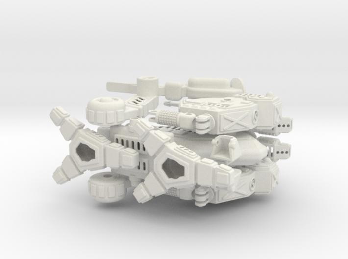 Vulture / Mad Dog Battlemech 1/72  3d printed