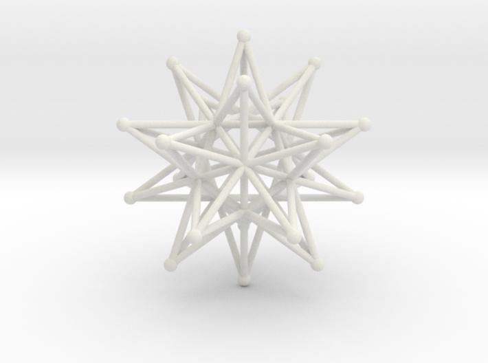 Stellated Icosahedron - 12 stars interlocking 3d printed