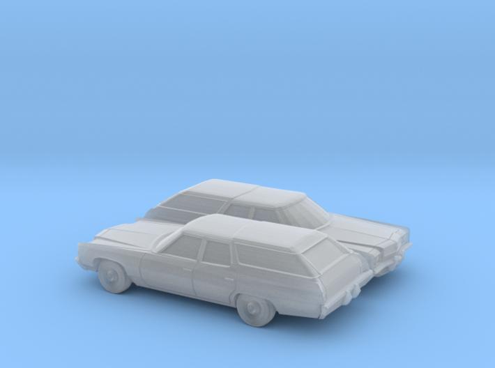 1/160 2X 1972 Chevrolet Impala Station Wagon 3d printed