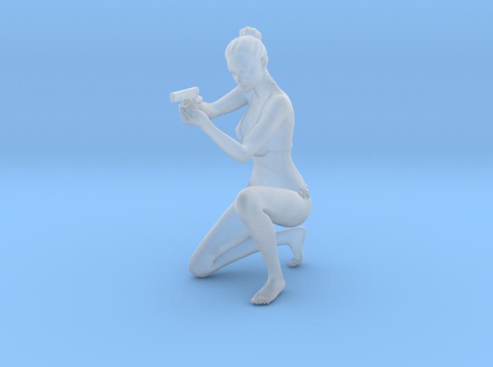 1:24 Female Warrior 012 3d printed