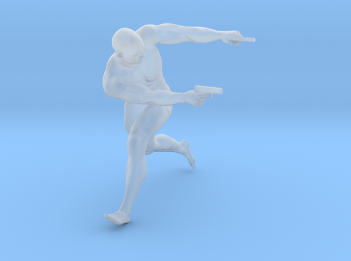 1:24 Male soldier 009 3d printed