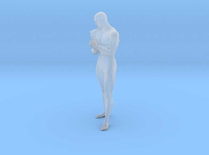 1:24 Male soldier 018 3d printed