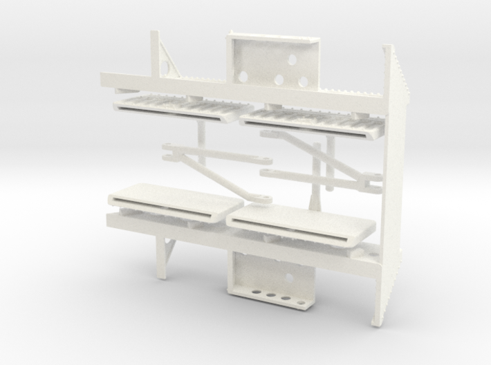 Seaking Step Assembly  3d printed