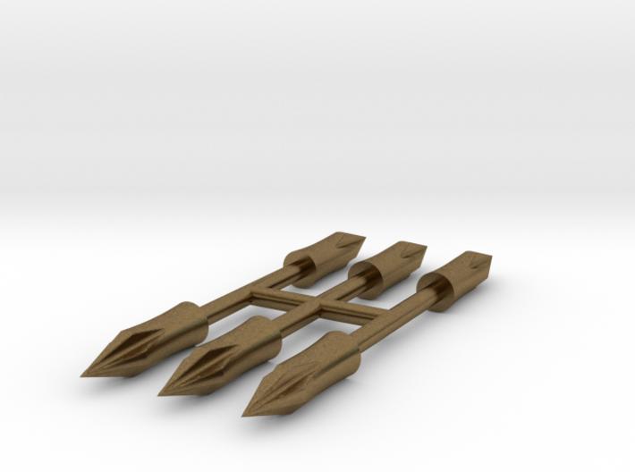 1:3 Scale Bronze Tudor Arrow Point 3d printed