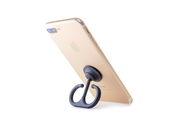 Anchor Ring Fidget Spinner Phone Stand - Stickers  3d printed