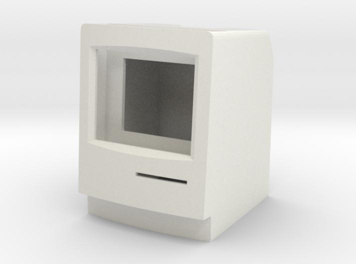 Macintosh Classic II iPod Nano Stand 3d printed
