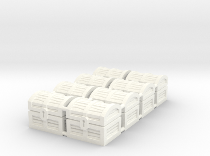 Wiz-War Chest tokens 3d printed