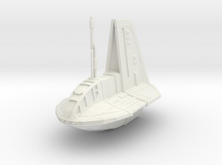 Neimoidian Shuttle 1/270  3d printed