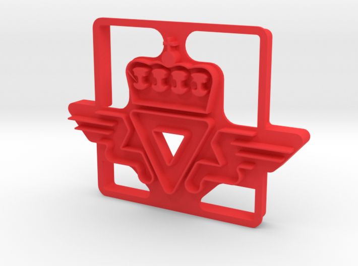 SVV Cookie Cutter 3d printed