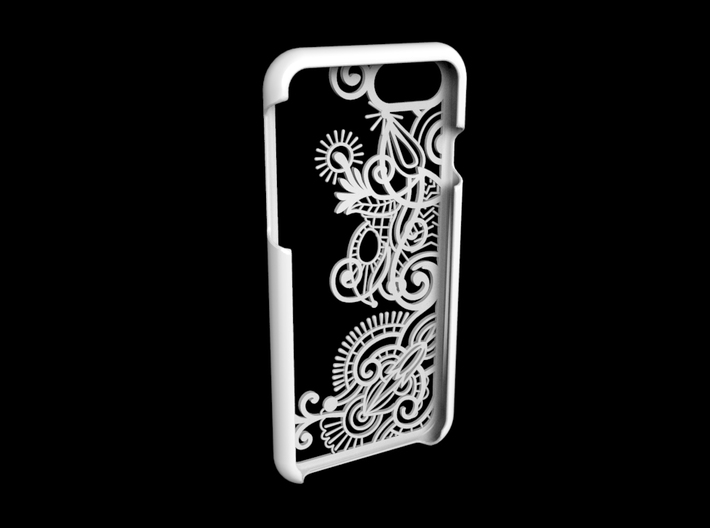 Floral Pattern Iphone 7 case 3d printed