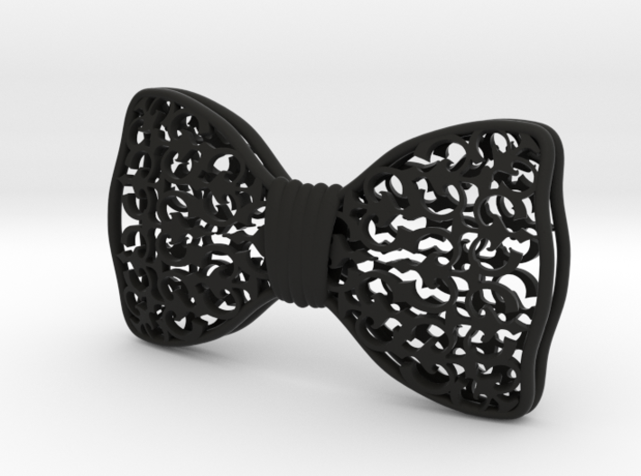 Bow tie paterns 3d printed