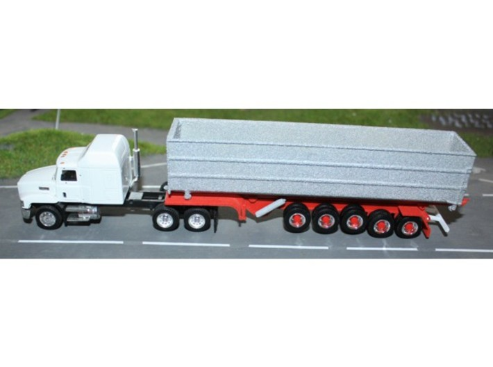 000480 Roll on off Trailer HO 1:87 3d printed