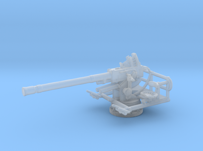 1/200 40mm Single Bofors [UnElevated] 3d printed