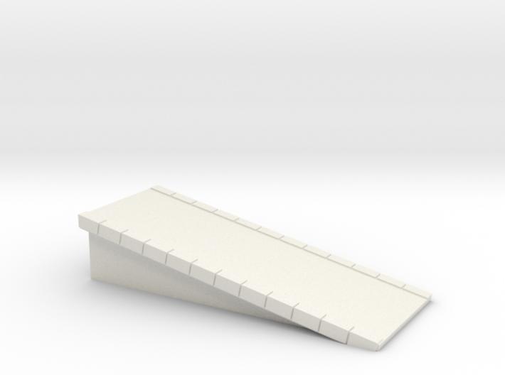 N Scale Platform #1 Ramp 3d printed