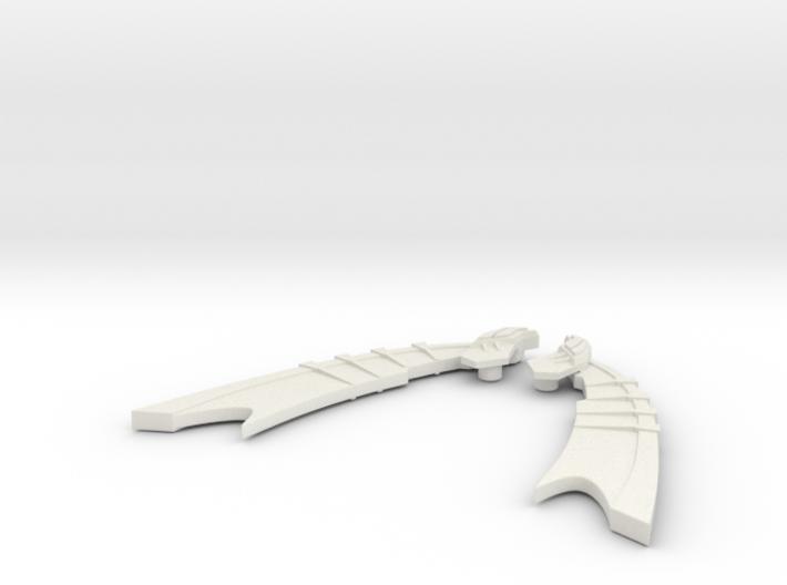 Big wings  3d printed