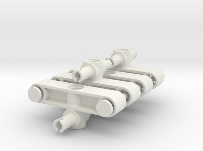 Lenkhebel V2 Spar Set 3d printed