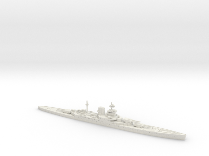 HMS Incomparable 1/1250 3d printed