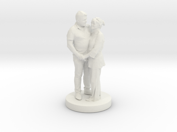 Printle Classic Couple 023 3d printed